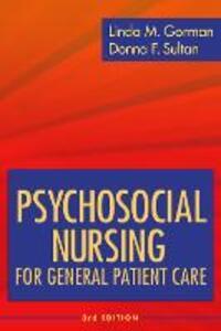 Psychosocial Nursing General Patient Care - Linda M. Gorman,Donna F. Sultan - cover