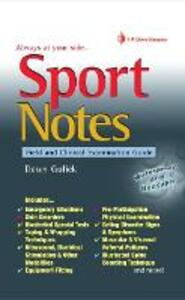 Sport Notes: Field and Clinical Examination Guide - Dawn Gulick - cover