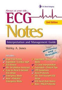 ECG Notes: Interpretation and Management Guide - Shirley A. Jones - cover