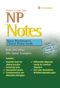 NP Notes: Nurse Practitioner's Clinical Pocket Guide - Ruth McCaffrey,Ellis Quinn Youngkin - cover