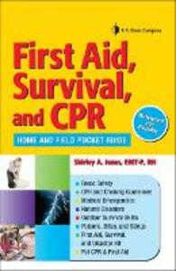 First Aid and Survival Notes - Shirley Jones - cover