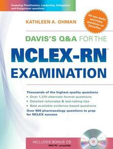 Davis's Q&A for the NCLEX-RN Examination - Kathleen A Ohman - cover