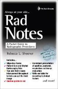 Rad Notes - Rebecca L. Shoener - cover