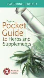 Davis'S Pocket Guide to Herbs and Supplements - Catherine Ulbricht - cover