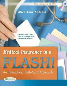 Medical Insurance in a Flash! an Interactive, Flash-Card Approach - Alice Anne Andress - cover