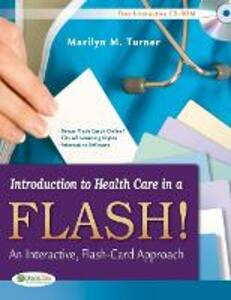 Introduction to Health Care in a Flash 1e - Marilyn Turner - cover