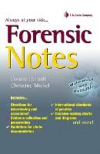 Forensic Notes 1e - Connie Darnell - cover