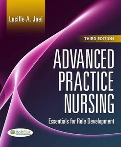 Advanced Practice Nursing 3e - Lucille A. Joel - cover