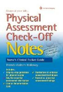 Physical Assessment Check-off Notes 1e - Brenda Walters Holloway - cover