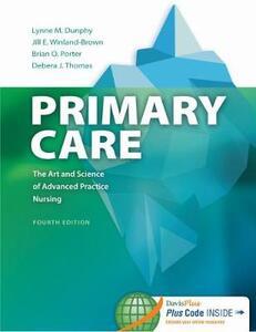 Primary Care: Art Science Adv Nurs Pr 4e - Lynne Dunphy - cover