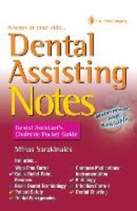 Dental Assisting Notes - Minas Sarakinakis - cover
