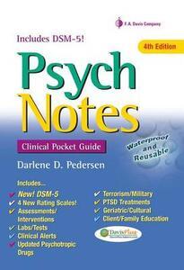 Psychnotes 4e Clinical Pocket Guide - Darlene D. Pedersen - cover
