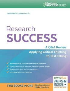 Research Success: A Q&A Review Applying Critical Thinking to Test Taking - Geraldine Valencia Go - cover
