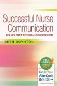 Successful Nurse Communication - Beth Boynton - cover