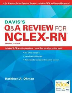 Davis'S Q&A Review for NCLEX-Rn (R), 2e - Ohman - cover