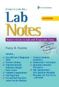 Lab Notes Gde Lab Diagnostic Tests 3e - Tracey Hopkins - cover