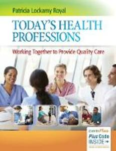 Today'S Health Professions - Patricia Lockamy Royal - cover