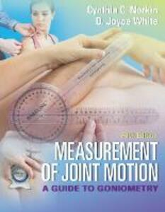 Measurement of Joint Motion, 5e - Norkin,White - cover