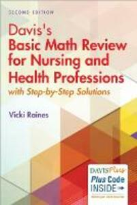 Davis Basic Math Review for Nurses 2e - Vicki Raines - cover