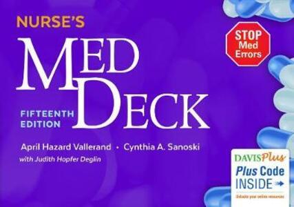 Nurse'S Med Deck 15e - Vallerand,Sanoski - cover