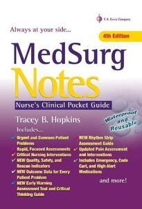 Medsurg Notes 4e - Myers - cover