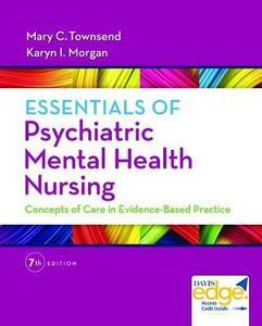Essentials of Psychiatric Mental Health Nursing, 7th Edition - Townsend,Morgan - cover
