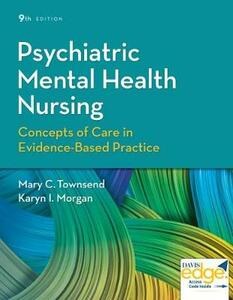 Psychiatric Mental Health Nursing 9e - Townsend,Morgan - cover