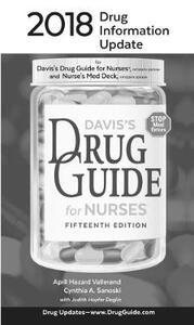 2018 Drug Information Update: for Davis's Drug Guide for Nurses and Nurse's Med Deck - F.A. Davis Company - cover