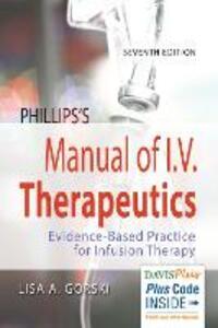 Manual of Iv Therapeutics 7e - cover