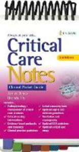 Critical Care Notes: Clinical Pocket Guide - Janice Jones,Brenda Fix - cover