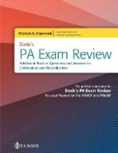 Diamond PA Exam Review Questions: Focused Review for the PANCE and PANRE - Morton A Diamond - cover