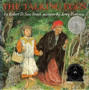 Souci Robert San : Talking Eggs Tr - Robert D San Souci - cover