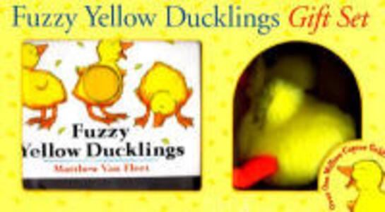Fuzzy Yellow Ducklings Gift SE: Or, A Gentleman's Progress in the New World - Matthew Van Fleet - cover