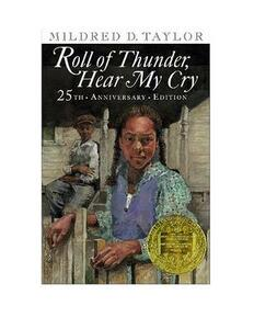 Roll of Thunder, Hear My Cry - Mildred D Taylor - cover