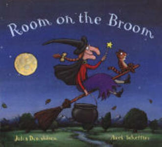 Room on the Broom - Julia Donaldson - cover