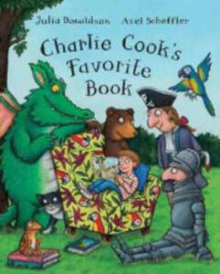 Charlie Cook's Favorite Book - Julia Donaldson - cover