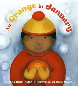 An Orange in January - Dianna Hutts Aston - cover