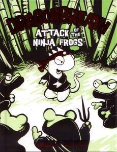 Attack Of The Ninja Frogs: Dragonbreath Book 2 - Ursula Vernon - cover