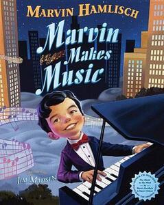 Marvin Makes Music - Marvin Hamlisch - cover