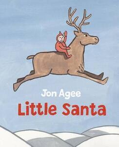 Little Santa - Jon Agee - cover