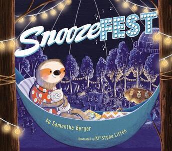 Snoozefest - Samantha Berger - cover