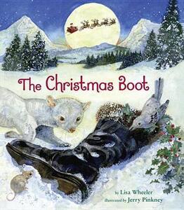 The Christmas Boot - Lisa Wheeler - cover