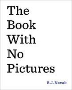 The Book with No Pictures - B. J. Novak - cover