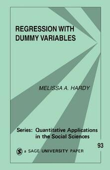Regression with Dummy Variables - Melissa A. Hardy - cover