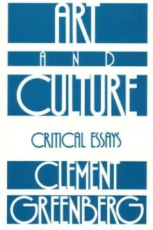Art And Culture - Clement Greenberg - cover