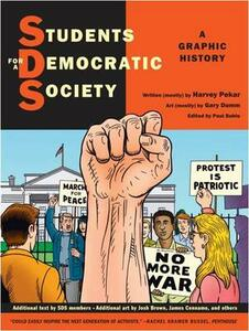 Students for a Democratic Society: A Graphic History - Harvey Pekar - cover