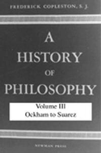 A History of Philosophy - Frederick Copleston - cover