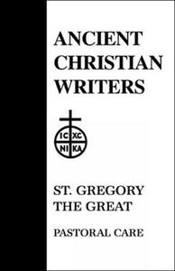 Pastoral Care - Pope Gregory - cover