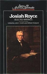 Josiah Royce - Josiah Royce - cover