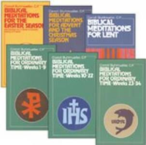 Biblical Meditations - Carroll Stuhlmueller - cover